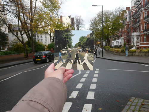 Abbey Road, couverture de l'album Abbey Road des Beatles