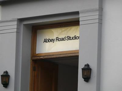 Entrée des studios d'Abbey Road