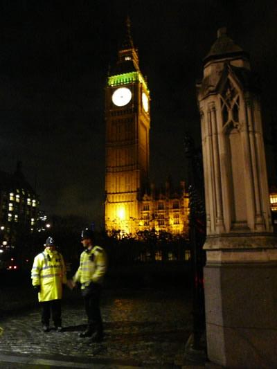 Big Ben de nuit