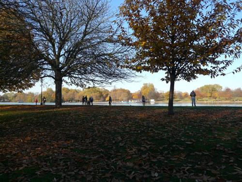 La Serpentine, au coeur de Hyde Park