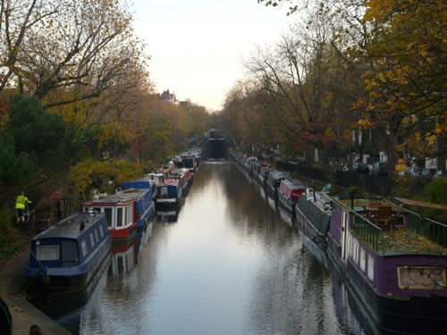 Canal à Little Venice