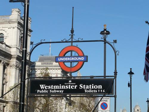 Station de métro Westminster