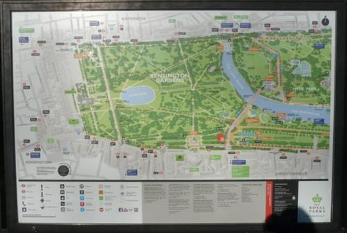 Hyde Park et Kensington Gardens