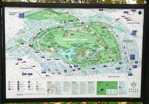 Plan de Primrose Hill