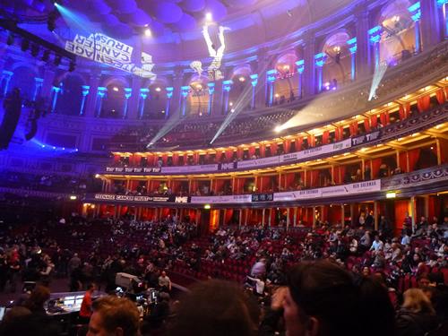 Intérieur du Royal Albert Hall
