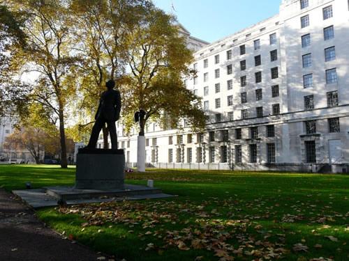Ministères du quartier de Westminster
